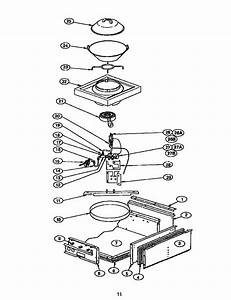 Page 11 Diagram  U0026 Parts List For Model Gps484wks Thermador