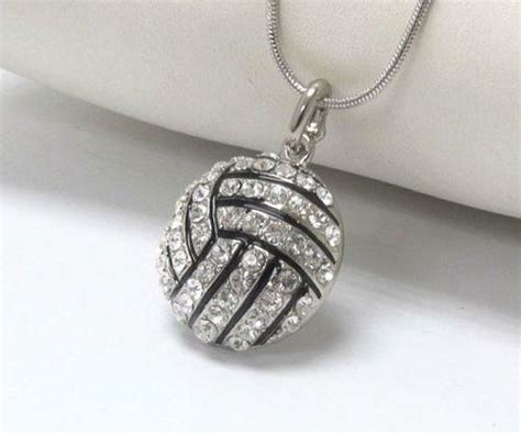 volleyball necklace ebay