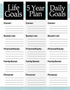 the 3 steps to a 5 year plan so now what With 5 year goal plan template
