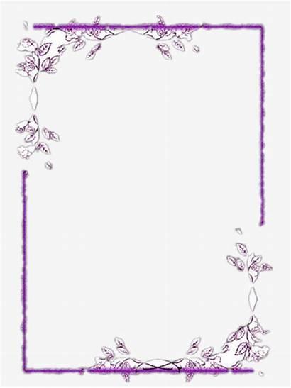 Border Pretty Clipart Purple Borders Nice Transparent