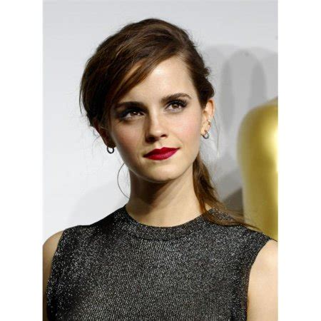 Emma Watson The Press Room For Annual Academy