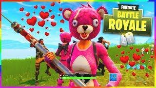 dessin fortnite nounours calin