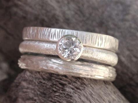 Engagement Ring Set Wedding Band