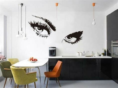desain stiker wallpaper dinding dapur cantik nirwana