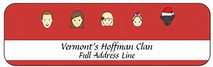 Free address labels perfect for holiday cards my for Caricature return address labels