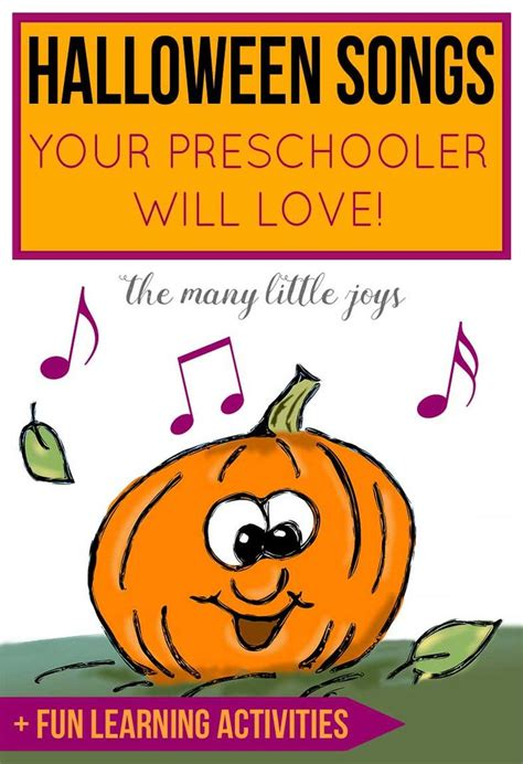 the 25 best songs for preschoolers ideas on 196 | d6eceee9def8cd04a849f260332ad730 halloween songs group halloween