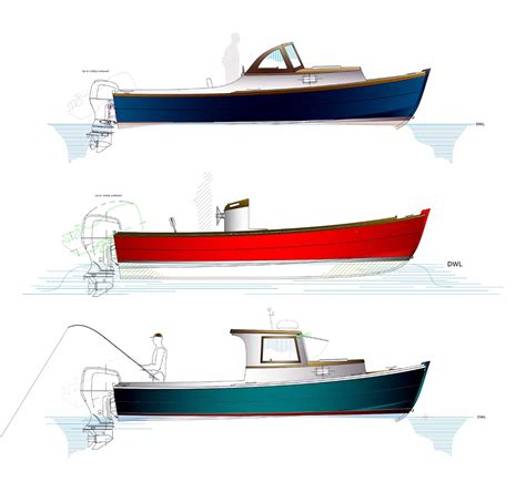 Center Console Boat Plans by Center Console Devlin Designing Boat Builders
