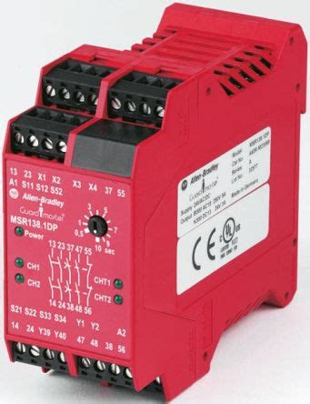 440r m23143 minotaur msr138dp safety relay 24 v ac dc