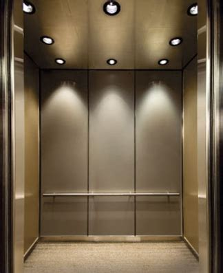 travertine elevator interiors