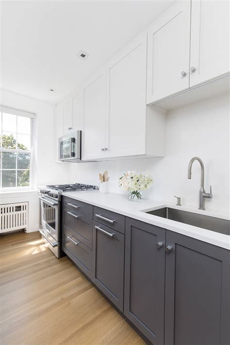 For A Galley Kitchen by Before And After A Galley Kitchen Gets The Modern Treatment