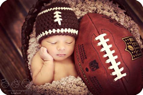 newborn photo prop baby boy football hat baby boy