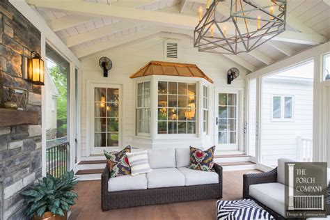 screened porch with fireplace screened porch and garage oasis the porch companythe