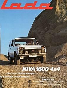 Lada Niva Tout Terrain : 1980 lada niva 1600 4x4 der neue gel ndewagen la nouvelle tout terrain switzerland way of ~ Gottalentnigeria.com Avis de Voitures