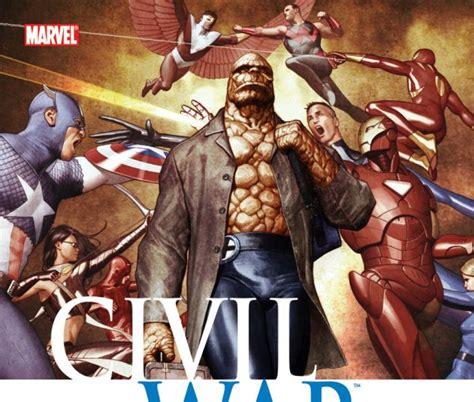 civil war fantastic four hardcover comic books