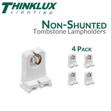 non shunted l holders tombstones non shunted rapid start tombstones for led t8 conversions