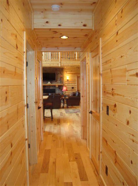 knotty pine  cedar paneling