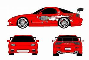 Dessin Fast And Furious : blueprint dessin informatique by dadou dadou ~ Maxctalentgroup.com Avis de Voitures