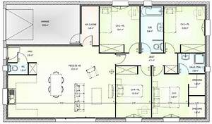 plan maison 5 pieces architecture 1 pinterest With plan maison en l 100m2 6 maison design pas cher 96 en v
