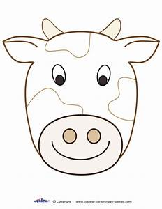 large printable cow decoration coolest free printables With bull mask template