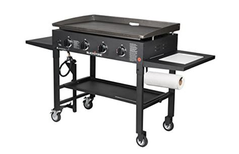blackstone   outdoor flat top gas grill griddle station review  grill reviews