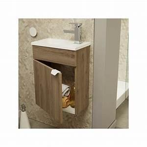 Lave Main Pour Wc : meuble lave mains pour wc uriel n 3 univers salle de bain ~ Premium-room.com Idées de Décoration