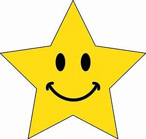 Happy Face Star Clip Art | Clipart Panda - Free Clipart Images