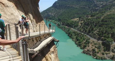 Gevaarlijkste wandelroute van Spanje? Caminito del Rey ...