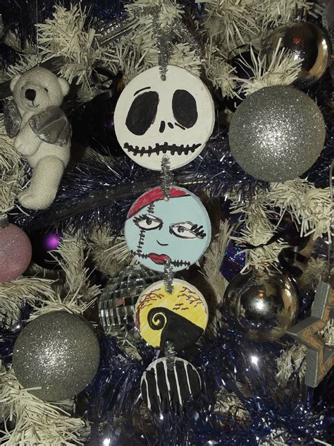 nightmare  christmas saltdough tree decoration