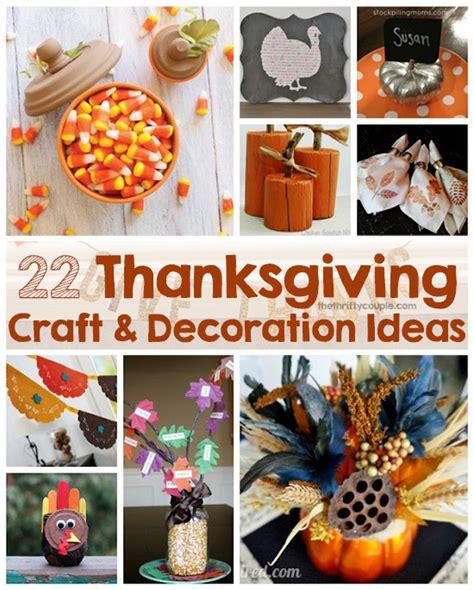 22 Thanksgiving Diy Craft And Home Decor Ideas