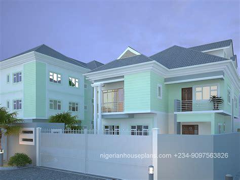 bedroom duplex nigerianhouseplans