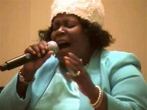 "Evangelist Renae Thomas, SINGS! ""I Really Love The Lord ..."