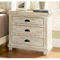 White Distressed Nightstand by Willow Distressed White Nightstand Rc Willey Furniture Store