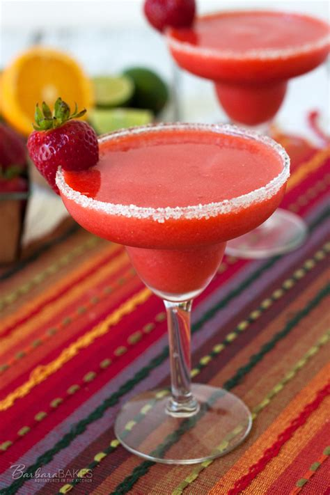frozen cocktail recipes a non alcoholic frozen sweet tart drink made with fresh strawberries served in a beautiful