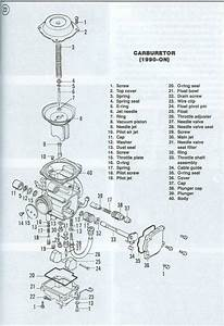 94 Lt-f4wdx Service Manual Or Carb Diagram