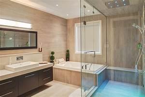 Salle De Bain 2016 : salle de bains moderne m lamine armoires bigo ~ Dode.kayakingforconservation.com Idées de Décoration
