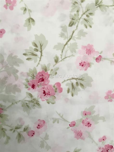 simply shabby chic pink pleat simply shabby chic rachel ashwell cherry blossom pink roses drape panel curtains ebay