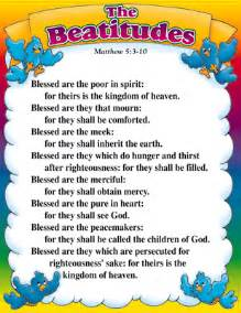 Beatitudes Meaning for Kids