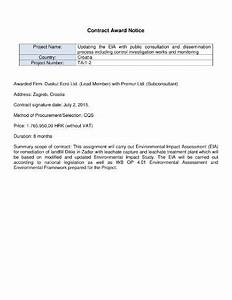 Consultant Contract Template Free 12 Awarding Contract Letter Templates Free Premium