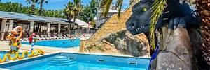 camping herault parc aquatique campings 34 piscine et With camping herault bord de mer avec piscine