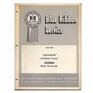 Original International Harvester Blue Ribbon Service