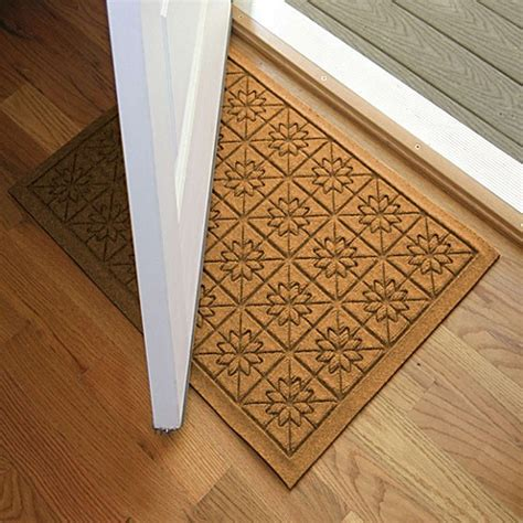 weather guard mats weather guard 23 inch x 35 inch door mat bed bath