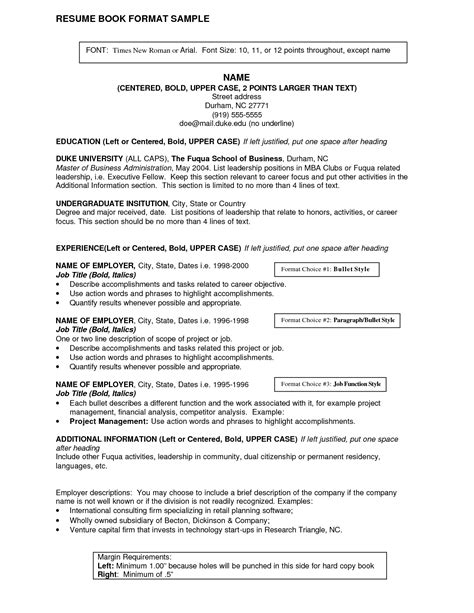 Titles For Resumes Exles by Resume Titles Student Resume Template