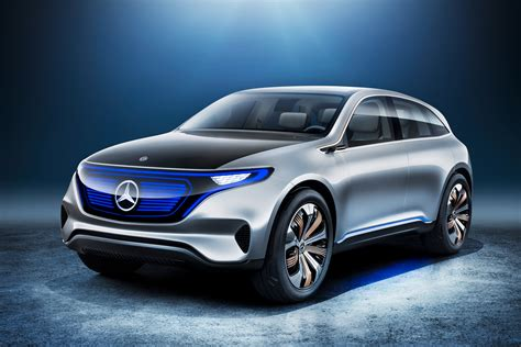 Elã Ctric by Mercedes Eq Electric Suv Official Pictures Auto Express