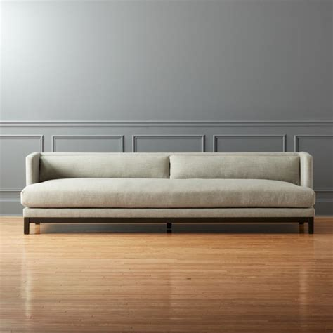 settee furniture designs brava sofa cb2