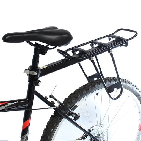 rear bike rack pedalpro large rear seat post bicycle rack for bike cycle