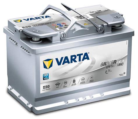 e auto batterie e39 varta start stop plus agm car battery 12v 70ah