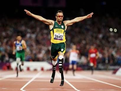 Pistorius Oscar Running Track Pistorious South Sprinter