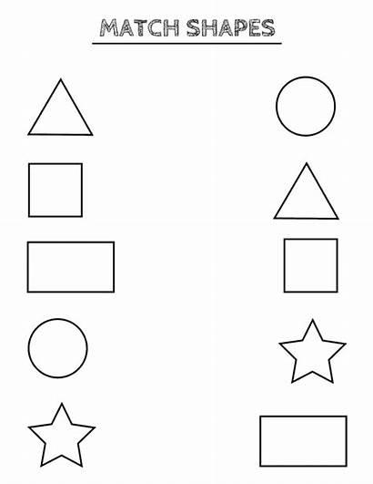 Shapes Worksheets Printable Toddlers Preschoolers Preschool Shape