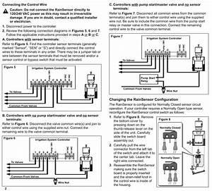 Rain Dial Rain Sensor Wiring Information
