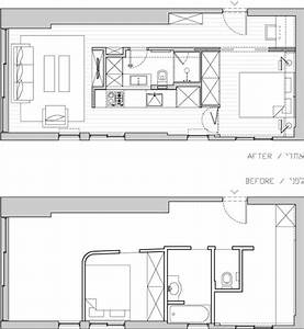 Creative 40 Square Meter Apartment Renovation: from Studio ...